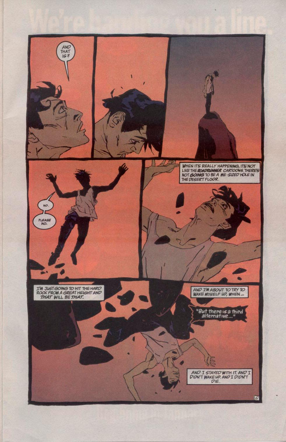 Sandman Miedo a caer 2